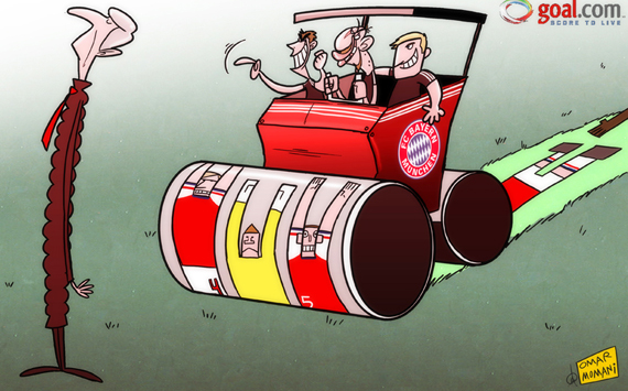 كاريكاتور فينجر يبحث هدفه الدائم